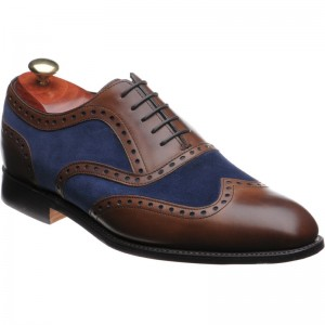 Cambridge two-tone brogues