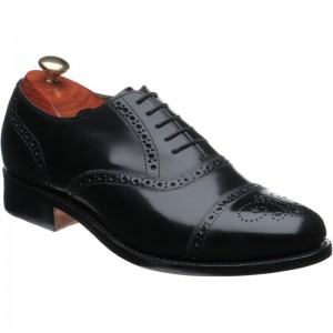 47f6e207b5c7b Barker shoes | Barker Sale | Gatwick in Black Polished at Herring Shoes