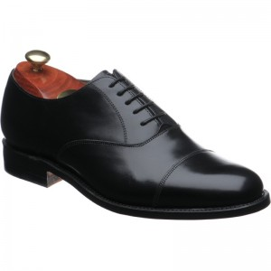 Barker Luton in Black CALF
