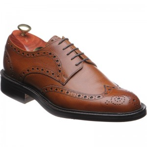 Grassington rubber-soled brogues