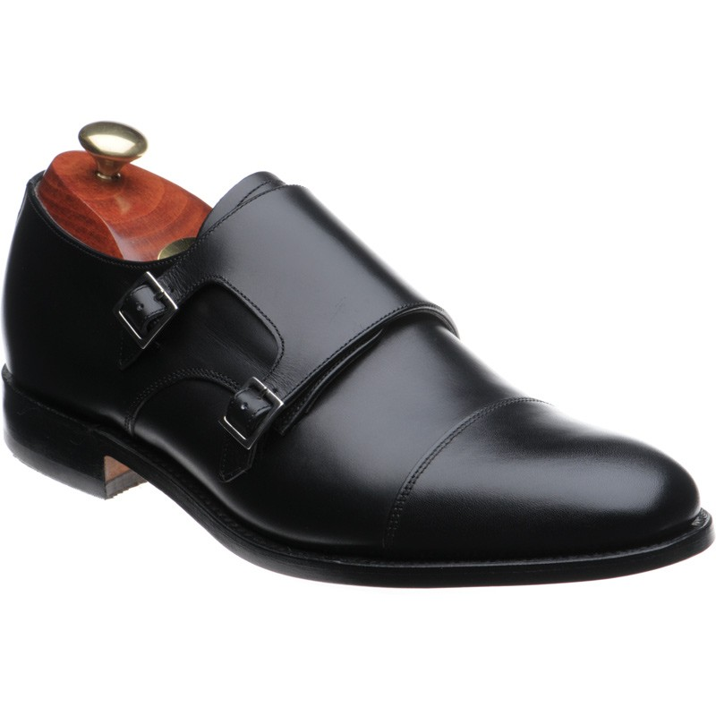 Barker Tunstall double monk shoes