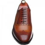 Barker Rochester two-tone brogues