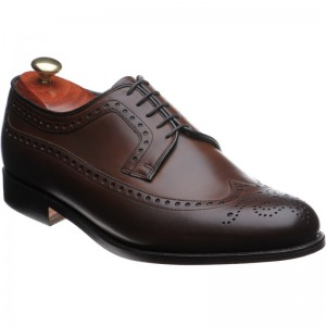 barker portrush in walnut calf