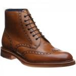 Barker Butcher brogue boots