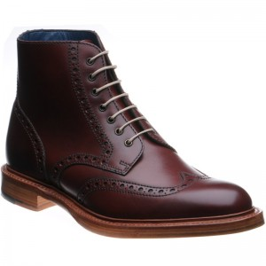 Butcher brogue boots