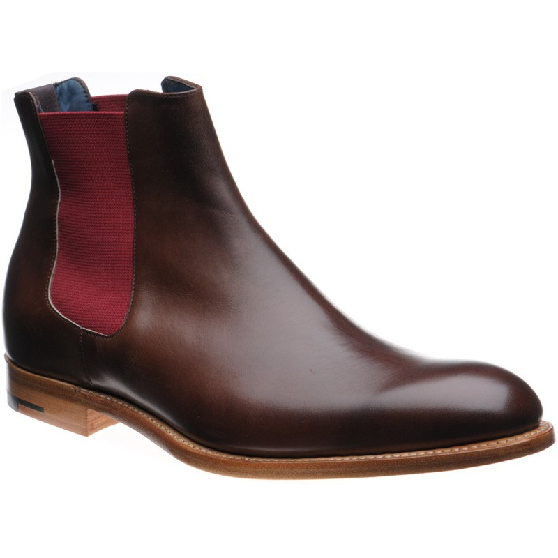 Hopper Chelsea boots in Walnut Calf