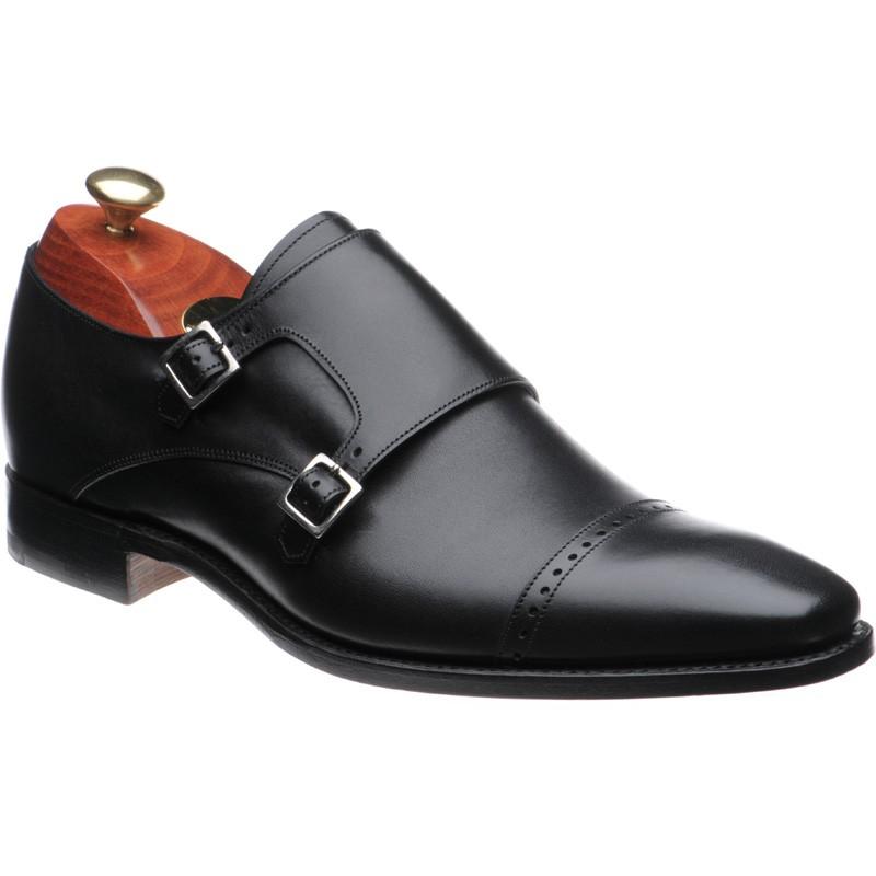 Barker Lancaster double monk shoes