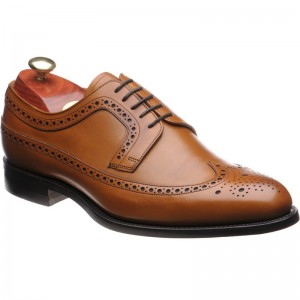 Bath rubber-soled brogues