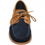 Barker Wallis rubber-soled deck shoes