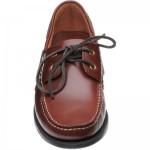 Barker Wallis rubber-soled deck shoes