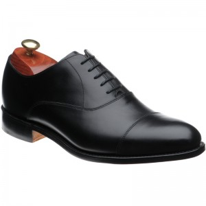 barker duxford in black calf