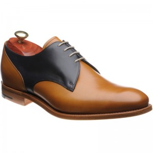 Alvis two-tone Derby shoes