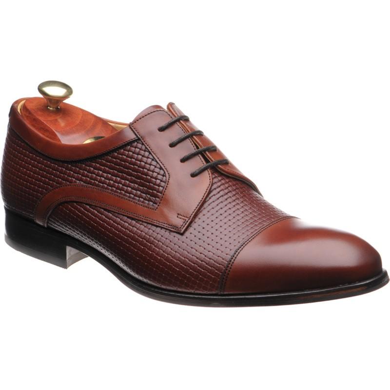 Deene Derby shoes in Rosewood Calf