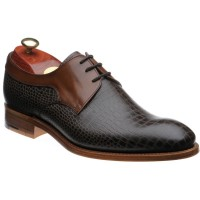 Benedict two-tone Derby shoes