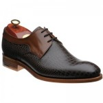 Barker Benedict two-tone Derby shoes