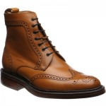 Calder rubber-soled brogue boots