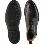 Calder rubber-soled brogue boots