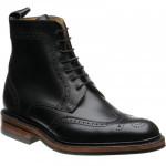 Barker Calder rubber-soled brogue boots