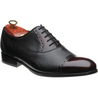 Barker Felix two-tone rubber-soled Oxfords