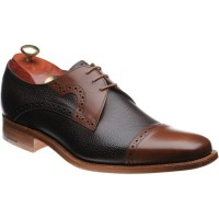 barker ashton in brown grain and walnut calf