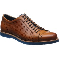 Barker Miami rubber-soled trainers