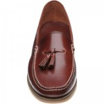 Horatio rubber-soled deck shoes