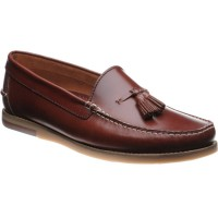 Barker Horatio rubber-soled deck shoes