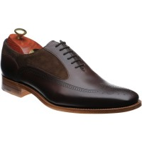 Harding two-tone brogues
