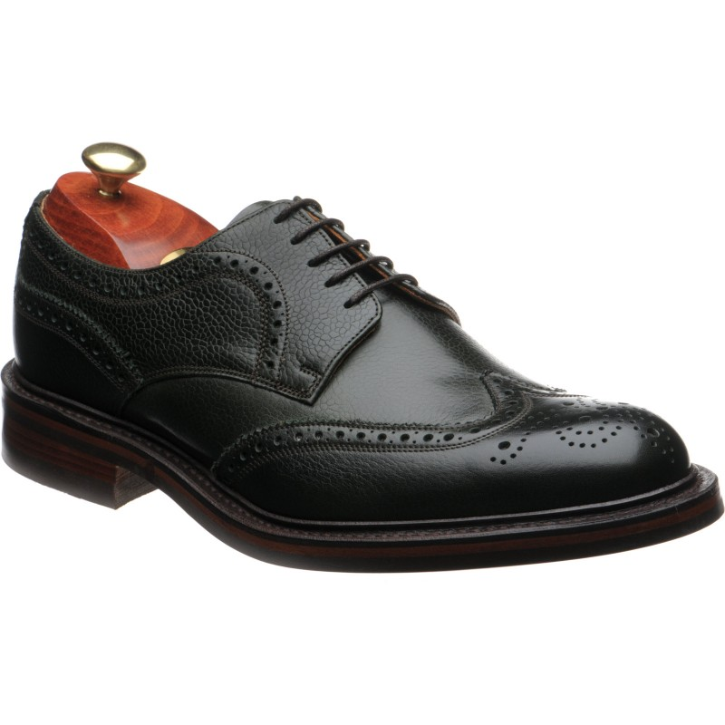 Kelmarsh rubber-soled brogues