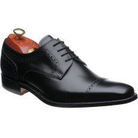 barker leo in black calf