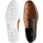 Hawk rubber-soled brogues