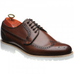 Barker Hawk rubber-soled brogues