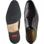Lamport two-tone rubber-soled brogues