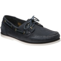 Barker Wallis 2 rubber-soled deck shoes