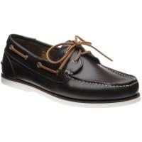 Barker Wallis 2 rubber-soled deck shoes