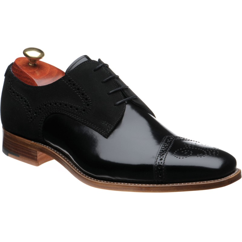 Luca two-tone semi-brogues