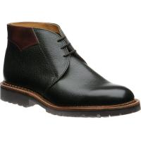 Barker Fortrose rubber-soled Chukka boots