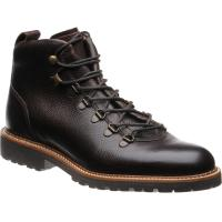 barker glencoe in dark brown grain