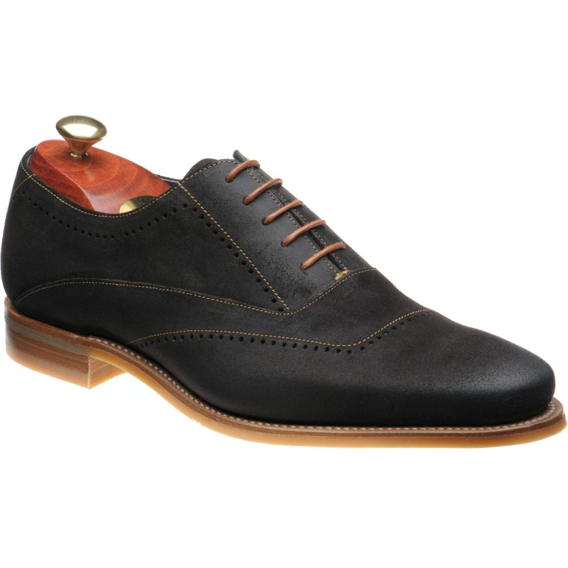 Thomas rubber-soled brogues