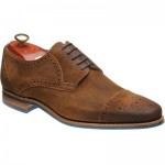 Barker Nixon rubber-soled semi-brogues