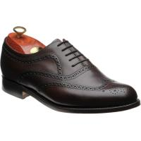 barker southport in dark walnut calf