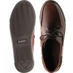 Henri rubber-soled deck shoes