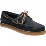 Barker Henri rubber-soled deck shoes
