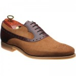 Barker Elliot two-tone rubber-soled brogues