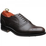 Mirfield  rubber-soled semi-brogues