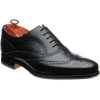 barker turing in black calf