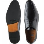 Rushden rubber-soled Derby shoes