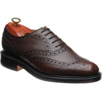 barker charles in brown fine grain calf
