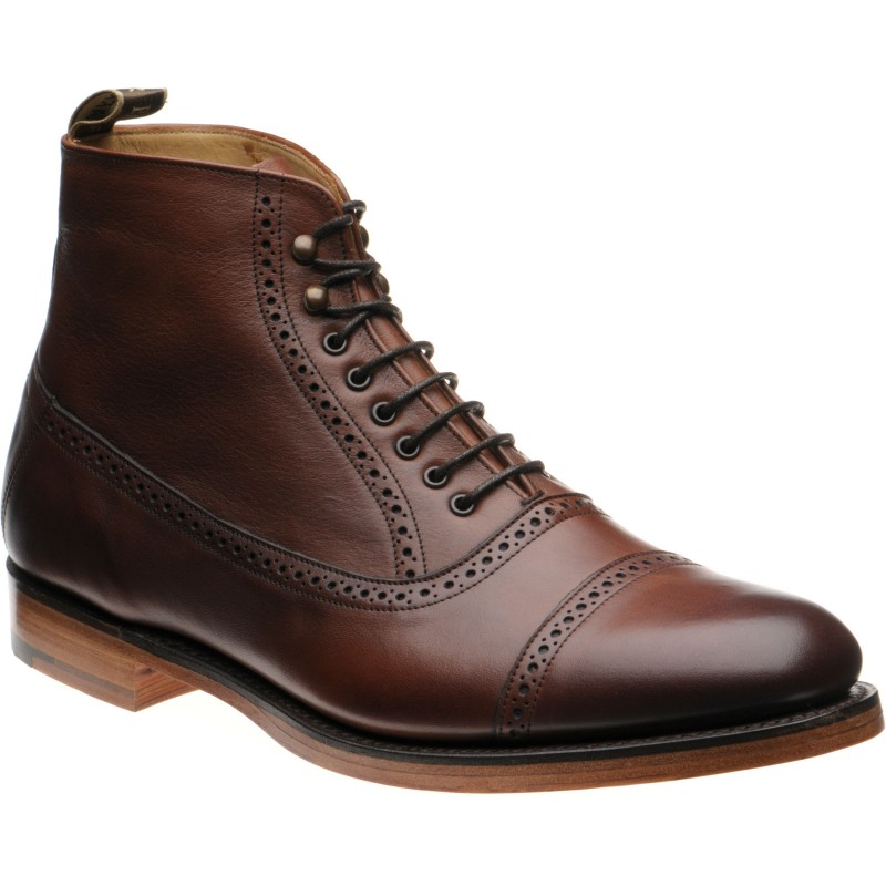 Foley brogue boots