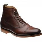 Barker Foley brogue boots